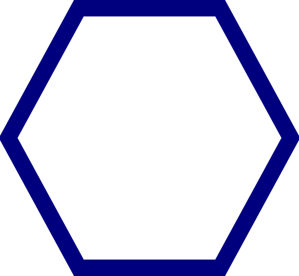 Hexagon Shape Clip Art - Hexagon Shape, Transparent background PNG HD thumbnail