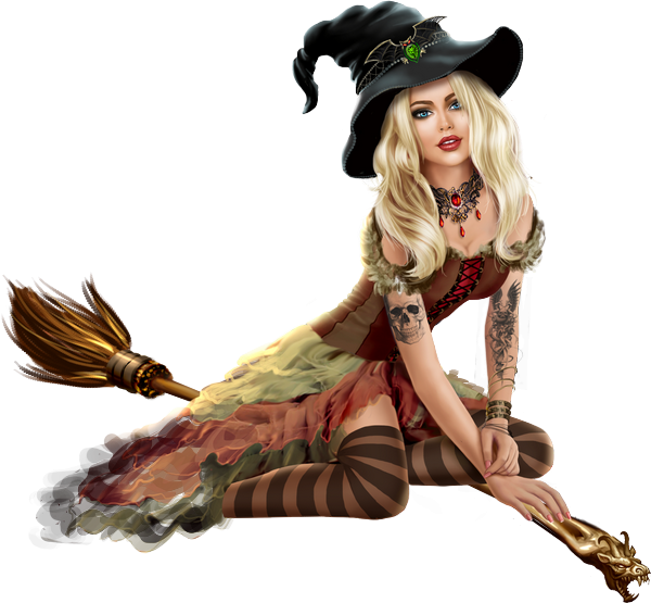 Całkiem Czarownica Na Miotle Tube   Pretty Witch Png - Hexe, Transparent background PNG HD thumbnail