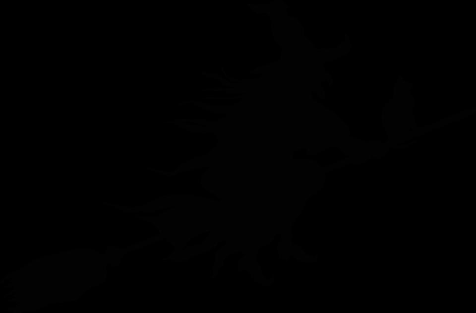 Hexe, Böse, Unheimlich, Gruselig, Halloween, Fliegen - Hexe, Transparent background PNG HD thumbnail