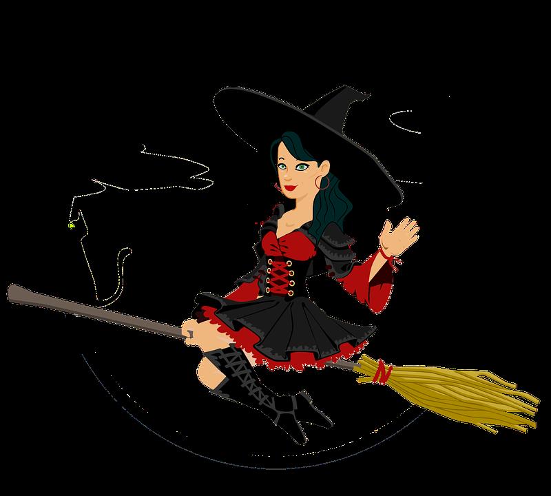 Hexe, Halloween, Hut, Kostüm, Fröhliches Halloween - Hexe, Transparent background PNG HD thumbnail