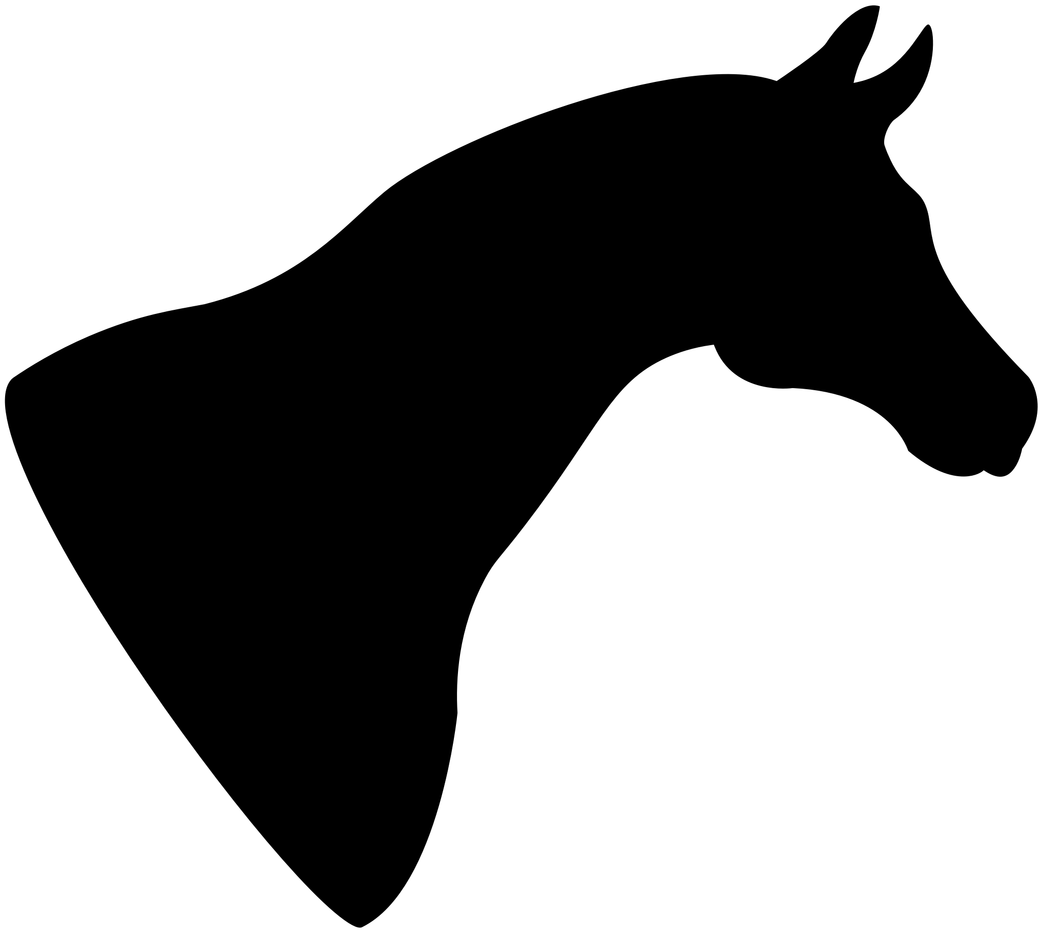 Big Image (Png) - Horse Head, Transparent background PNG HD thumbnail