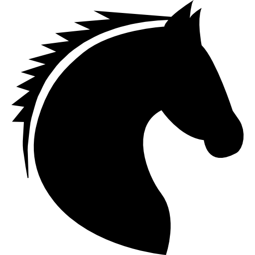 Horse Head Free Icon - Horse Head, Transparent background PNG HD thumbnail