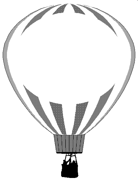 Balloner Clipart   Clipart Library; Balloner Clipart Clipart Library. Vintage Hot Air Balloons Hdpng.com  - Hot Air Balloon Black And White, Transparent background PNG HD thumbnail