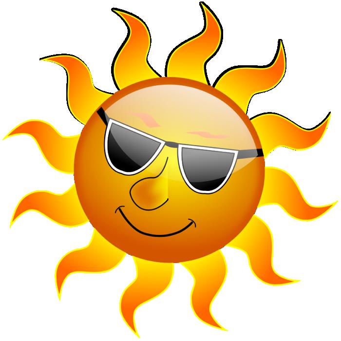 Png Hot Sun - Summertime Clipart, Transparent background PNG HD thumbnail