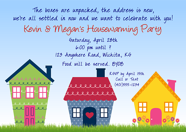 Cute Housewarming Party Invitations $1.00 Each Http://www.festivityfavors Pluspng.com/ - House Warming Party, Transparent background PNG HD thumbnail