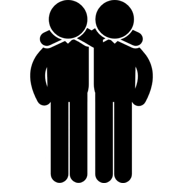 20. 9. Hugging - Hugs Friends, Transparent background PNG HD thumbnail