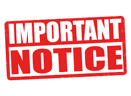 Png Important Notice - Important Notice Sign, Transparent background PNG HD thumbnail