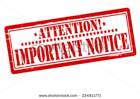 Png Important Notice - Rubber Stamps With Text Important Notice Inside, Vector Illustration, Transparent background PNG HD thumbnail