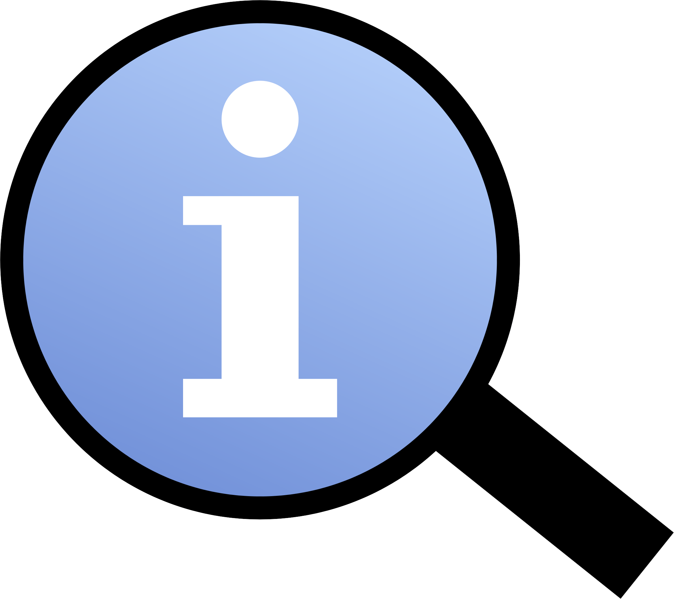 File:information Magnifier Icon.png - Information, Transparent background PNG HD thumbnail