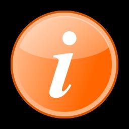File:information Orange.svg - Information, Transparent background PNG HD thumbnail