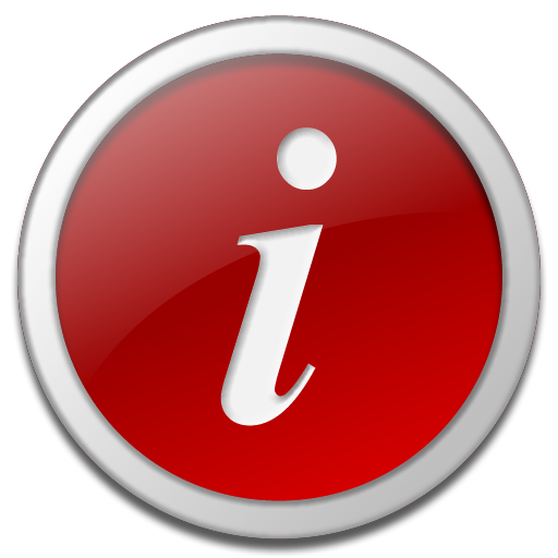 Information Italic Icon 512X512 Png - Information, Transparent background PNG HD thumbnail