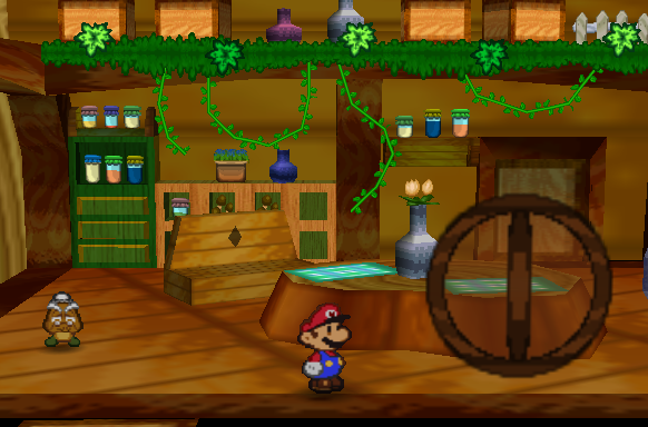 File:inside The Goomba House (Paper Mario).png - Inside House, Transparent background PNG HD thumbnail
