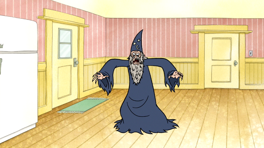 Image   S3E04.258 The Wizard Is Inside The House.png | Regular Show Wiki | Fandom Powered By Wikia - Inside House, Transparent background PNG HD thumbnail