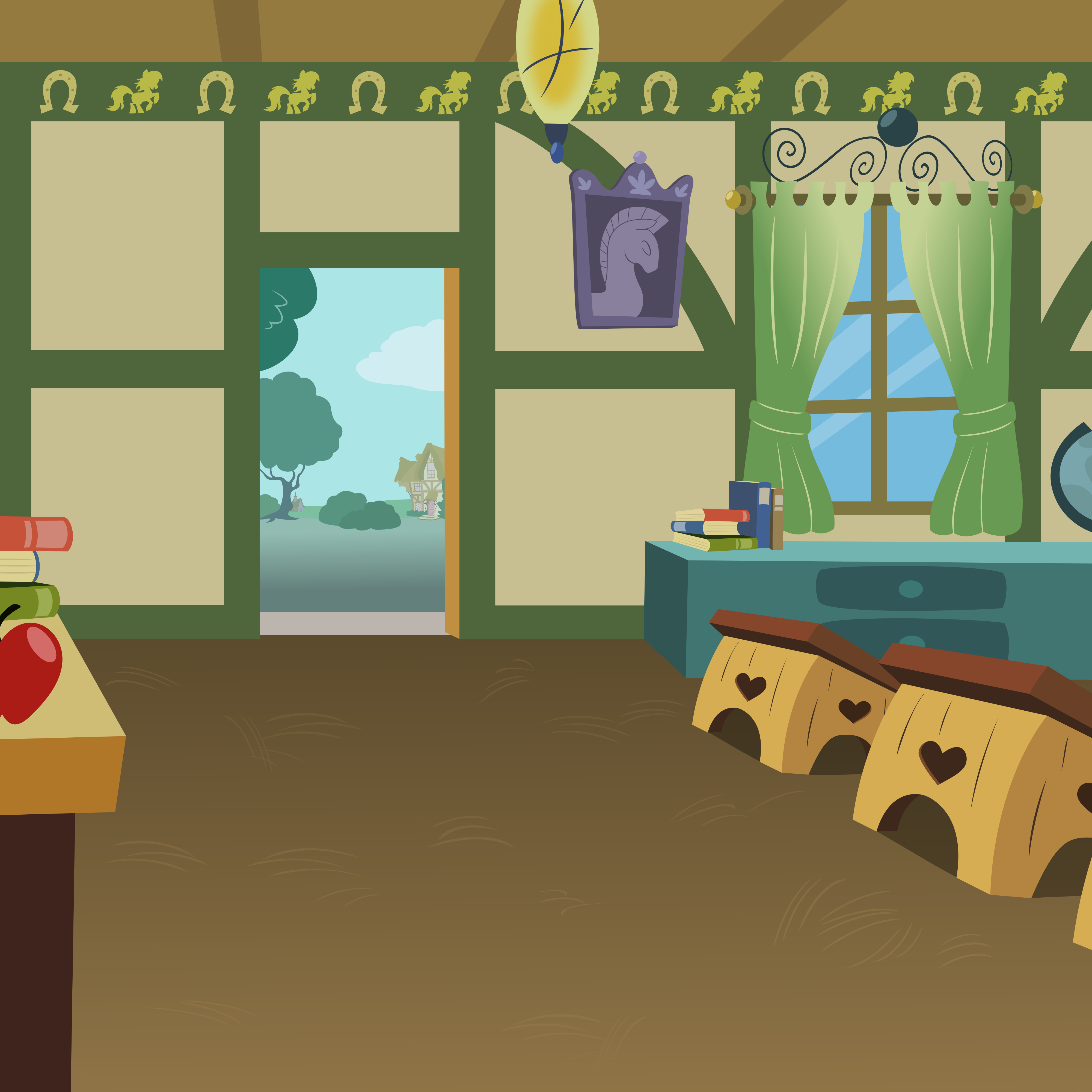 Inside Ponyvillie School House By Matty4Z On Deviantart - Inside House, Transparent background PNG HD thumbnail