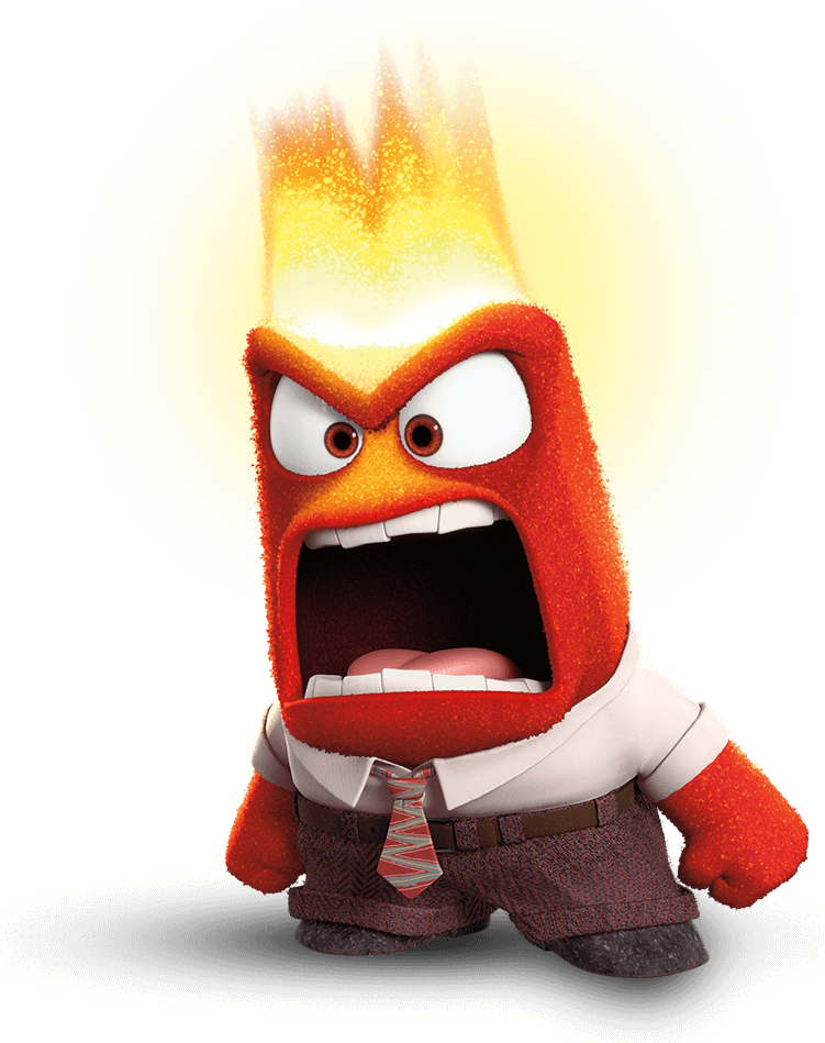 Anger Inside Out.png - Inside Out, Transparent background PNG HD thumbnail