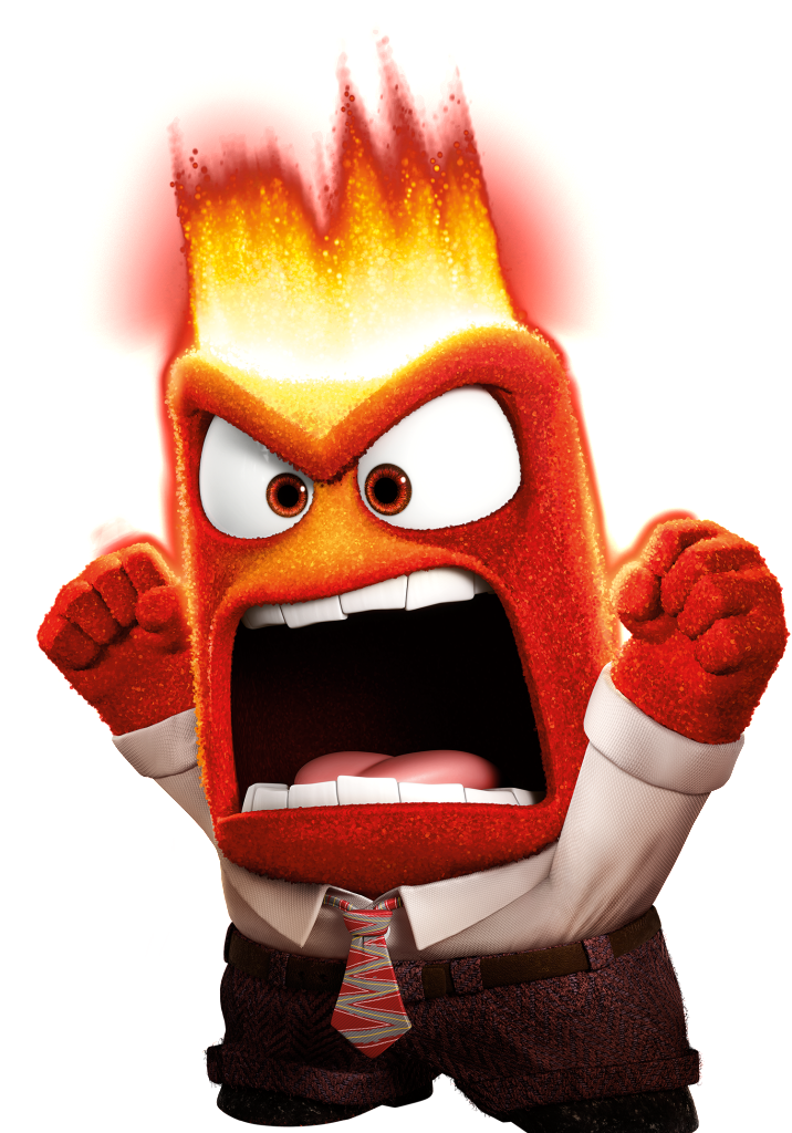 Anger Render.png - Inside Out, Transparent background PNG HD thumbnail