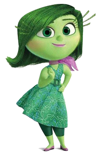 Png Inside Out - Disgust Smile.png, Transparent background PNG HD thumbnail