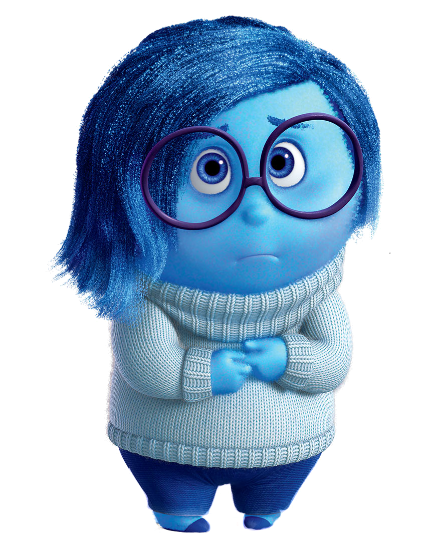 Png Inside Out - Image   Sadness Fullbody Render.png | Inside Out Wikia | Fandom Powered By Wikia, Transparent background PNG HD thumbnail