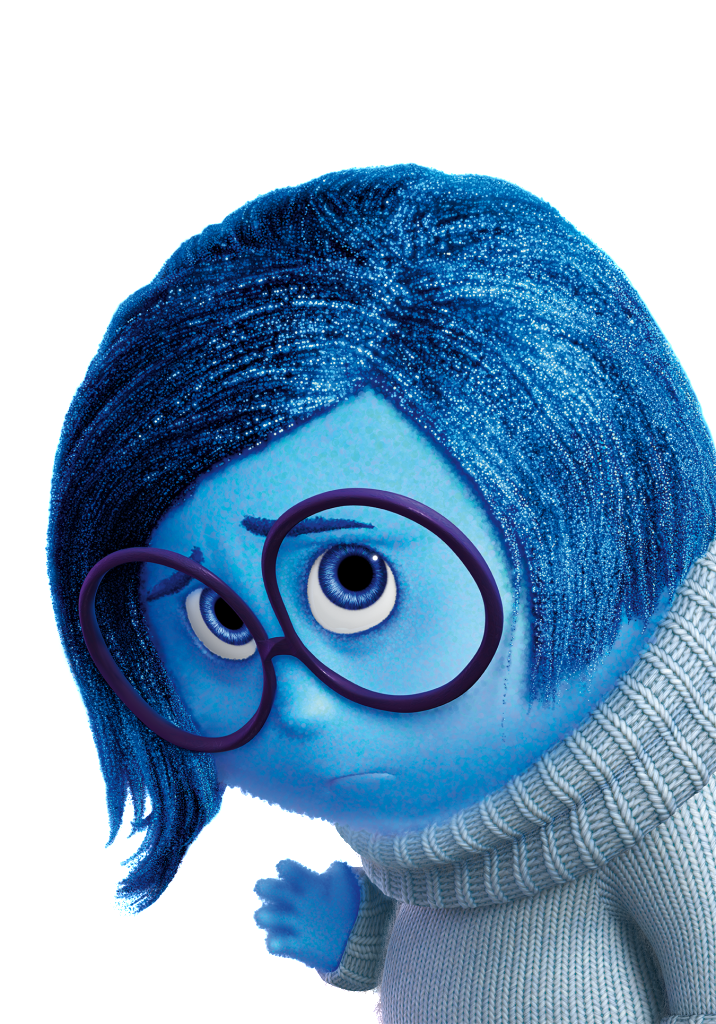 Sadness Render.png - Inside Out, Transparent background PNG HD thumbnail