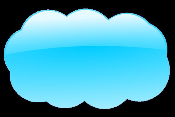 Blue Cloud Png Clip Arts - Internet Cloud, Transparent background PNG HD thumbnail