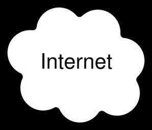 Png Internet Cloud - Internet Cloud Clip Art, Transparent background PNG HD thumbnail