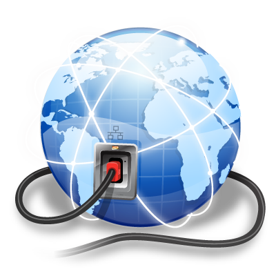 Connection, Internet Icon. Download Png - Internet, Transparent background PNG HD thumbnail