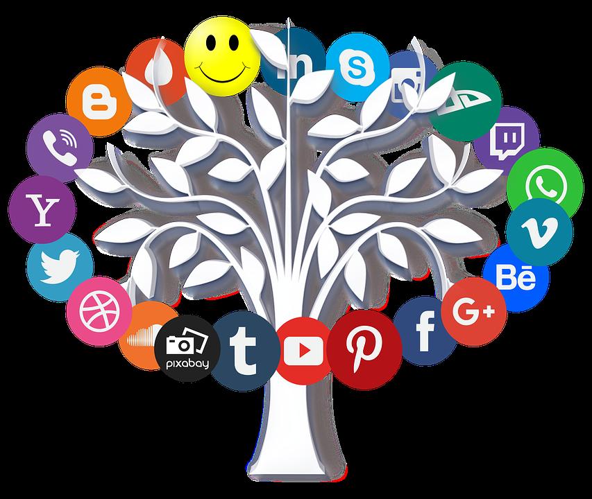 Online, Internet, Icon, Tree, Leaves, Symbols, Www, Web - Internet, Transparent background PNG HD thumbnail