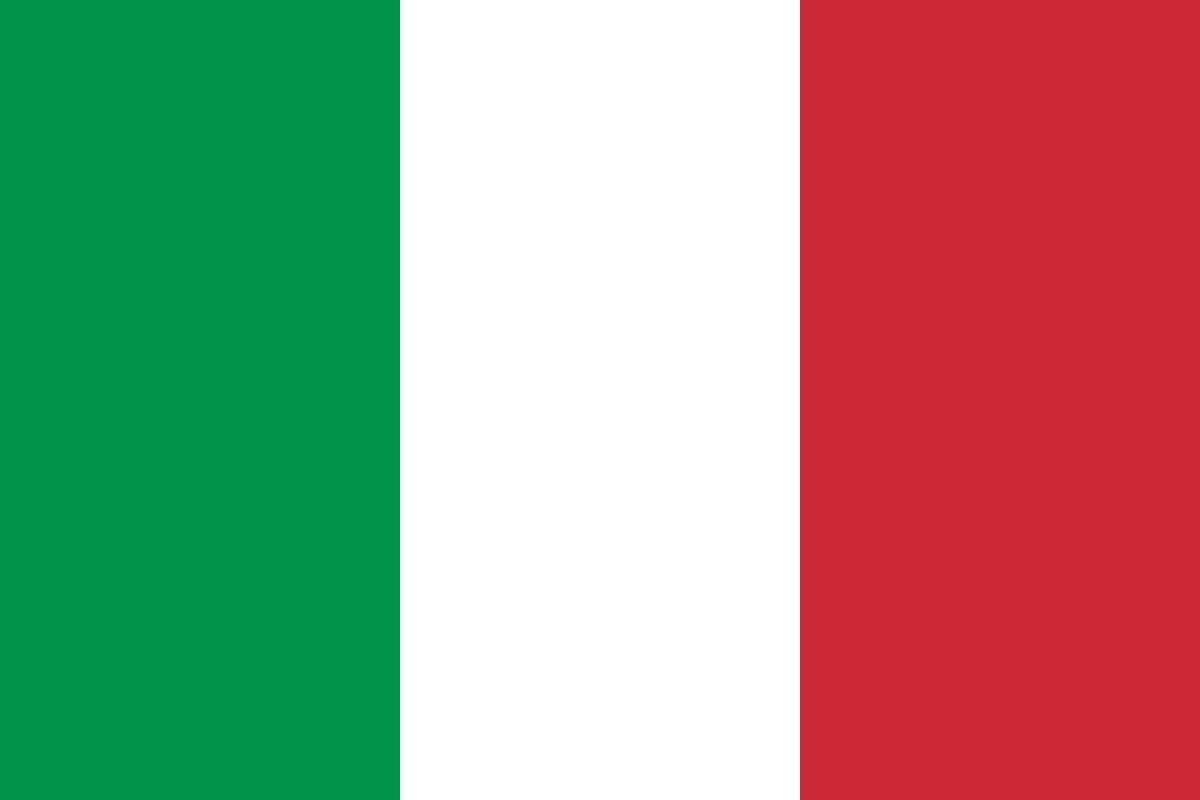 PNG Italian Flag