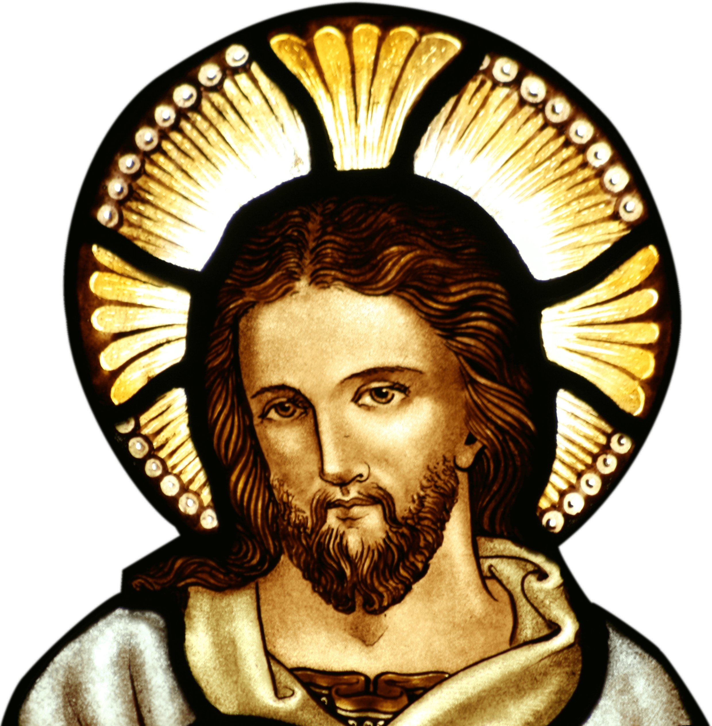 PNG Jesus Face
