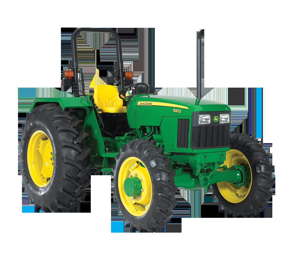 PNG John Deere Tractor