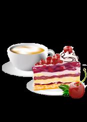 PNG Kaffee Kuchen