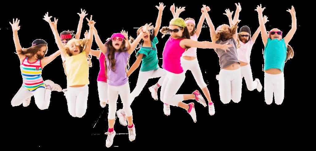 PNG Kids Dancing