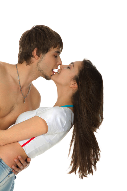 PNG Kissing Couple