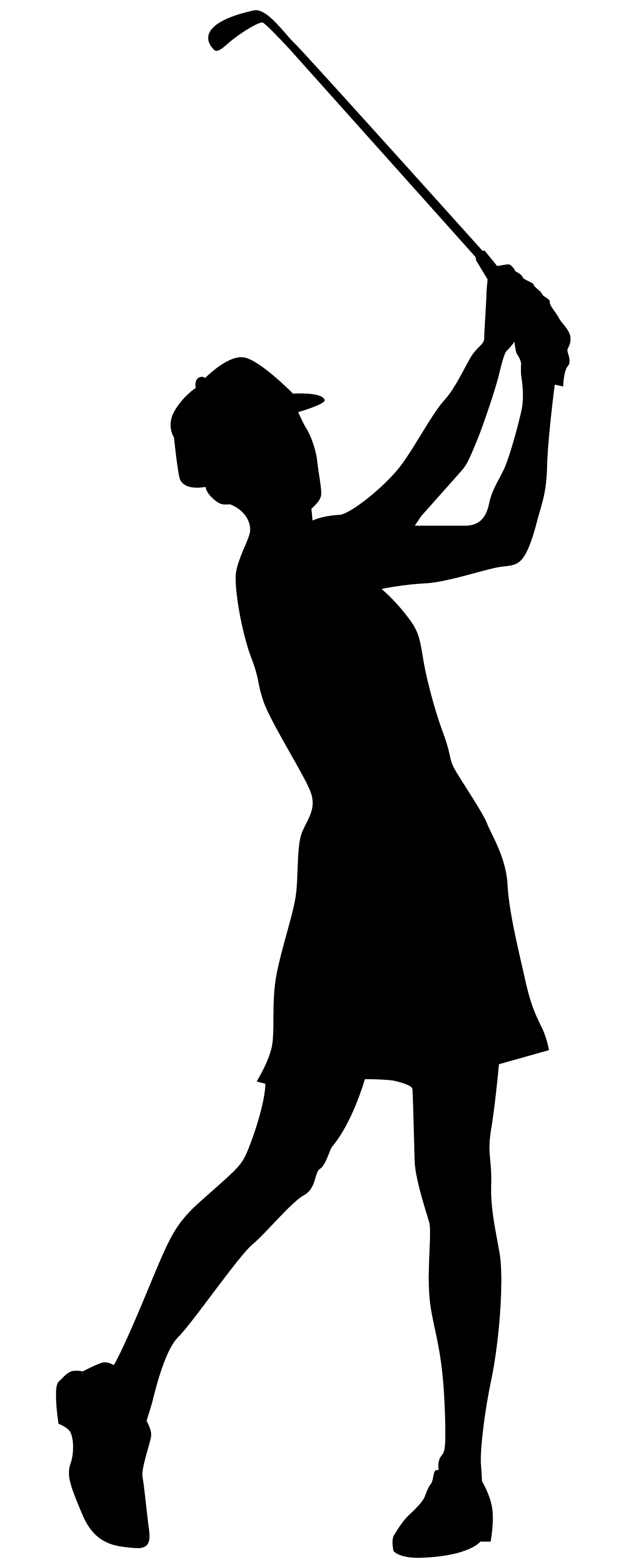 Png Lady Golfer - Female Golfer Cliparts #2536369, Transparent background PNG HD thumbnail