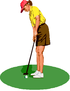 Png Lady Golfer - Tuesday Ladies Club, Transparent background PNG HD thumbnail