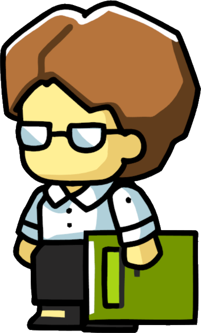 Image   Librarian Female.png | Scribblenauts Wiki | Fandom Powered By Wikia - Librarian, Transparent background PNG HD thumbnail