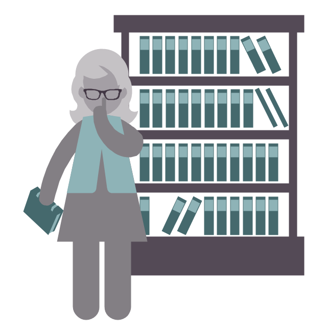 Librarian, Librarian, Profession Icon, - Librarian, Transparent background PNG HD thumbnail