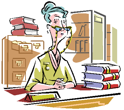Library Building Clipart Librarian Clip #art2 - Librarian, Transparent background PNG HD thumbnail