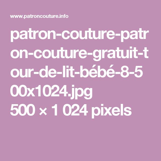 Patron Couture Patron Couture Gratuit Tour De Lit  - Lit Gratuit, Transparent background PNG HD thumbnail