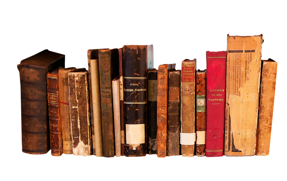 Books, Read, Literature, Old, Learn, Antiquarian, Book - Literature, Transparent background PNG HD thumbnail
