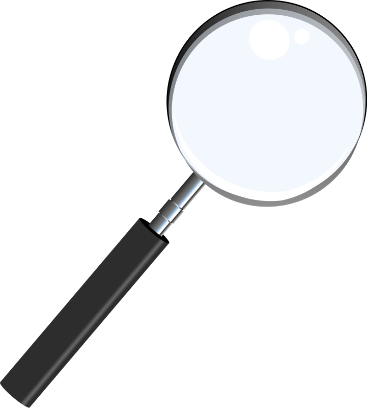 Png Magnifying Glass Detective - Free To Use Public Domain Magnifying Glass Clip Art, Transparent background PNG HD thumbnail