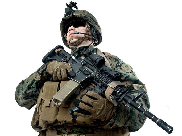 Png Military Soldier - Png Military Soldier Hdpng.com 590, Transparent background PNG HD thumbnail