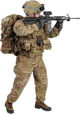 Png Military Soldier - Soldier Png, Transparent background PNG HD thumbnail