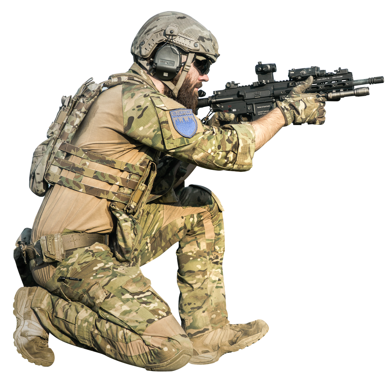 Png Military Soldier - Soldier Png Hd, Transparent background PNG HD thumbnail