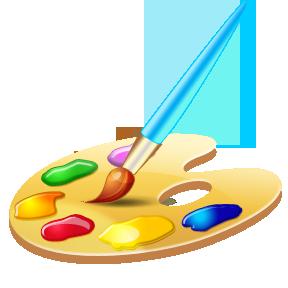 Png Paint Palette - Artist Paint Palette, Transparent background PNG HD thumbnail