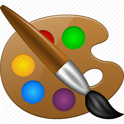 Png Paint Palette - Color Palette, Draw, Layout, Paint Tools, Paintbrush, Painter, Template Icon, Transparent background PNG HD thumbnail