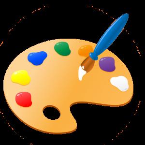 PNG Paint Palette