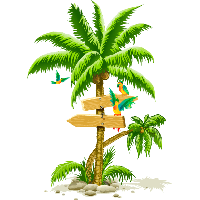 Tropical Palm Tree Png Png Image - Palm Tree, Transparent background PNG HD thumbnail