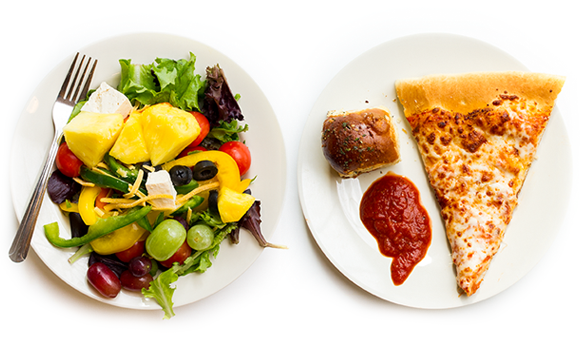 Png Plate Of Food - Plate Of Food, Transparent background PNG HD thumbnail