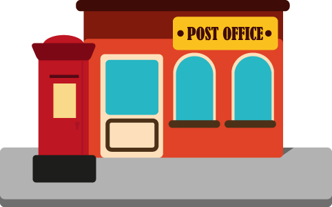 Png Post Office Hdpng.com 482 - Post Office, Transparent background PNG HD thumbnail